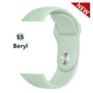 Accessories - *❤️NEW Beryl Green Silicone Band For Apple Watch